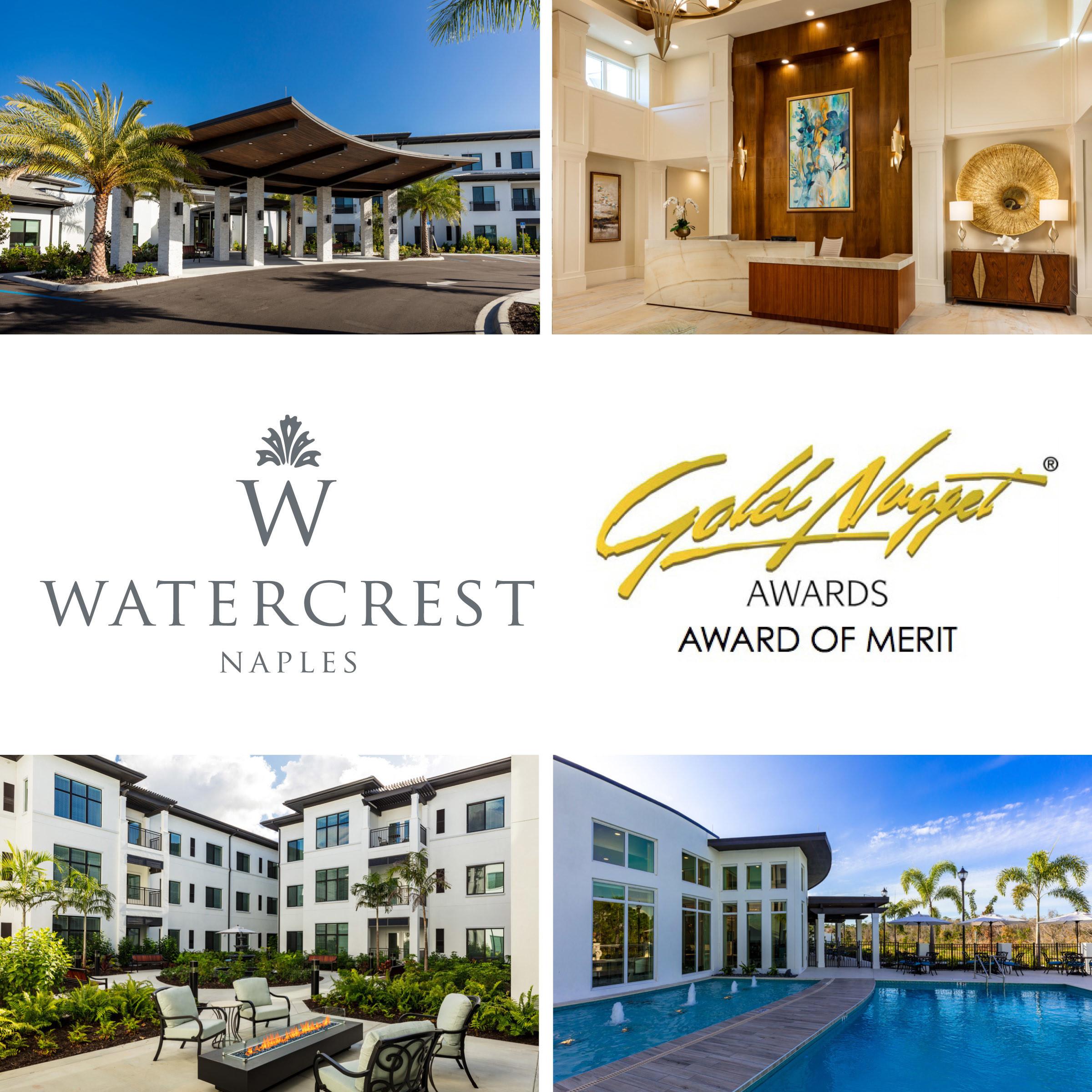 Watercrest Senior Living Group WNAP Gold Nugget Award