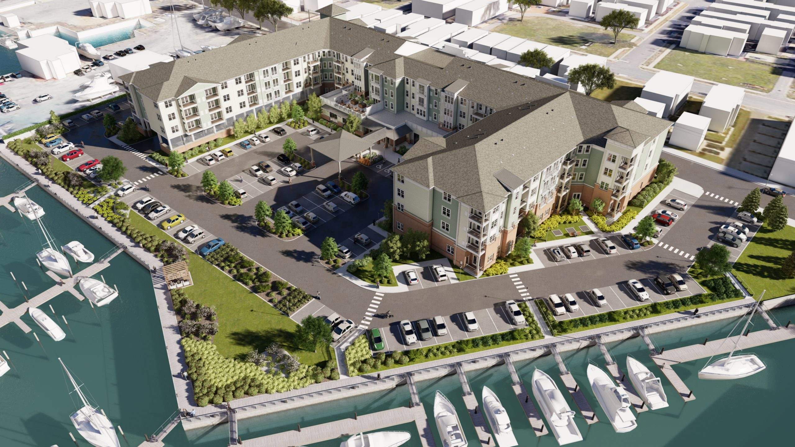 High-end waterfront retirement living is coming to Norfolk Virginia's East Beach Summer of 2021