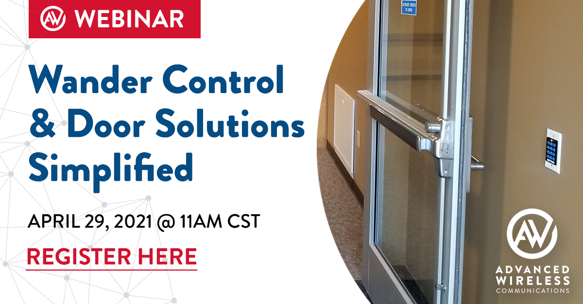 Social Media wander control door solutions Webinar April 29